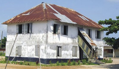 First story building in Nigeria - Badagry