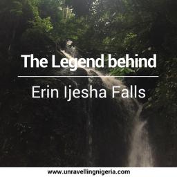 Erin-Ijesha Waterfall's Myth