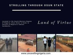 Strolling Through Osun State