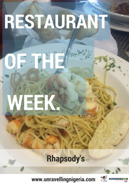 Restaurant of The Week – Rhapsody's