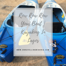 Row Row Your Boat | Kayaking in Lagos