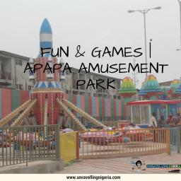 Fun & Games   Apapa Amusement Park