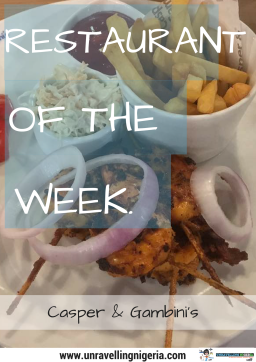Restaurant Of The Week | Casper & Gambini's