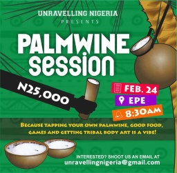 Palm Wine Sessions | Join Us