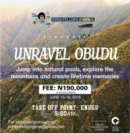 Unravel Obudu   June 15 – 18