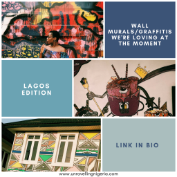 Wall Murals/Graffitis We're Loving At The Moment |Lagos Edition